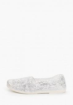 Слипоны, Nobbaro, цвет: серебряный. Артикул: NO021AWIYLM5. Обувь / Слипоны