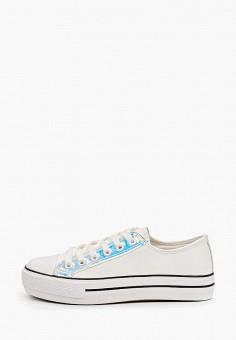 Кеды, Nobbaro, цвет: белый. Артикул: NO021AWIYLN4. Обувь / Кроссовки и кеды