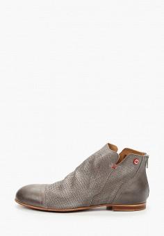 Ботинки, Nobrand, цвет: серый. Артикул: NO024AMIFRC5. Обувь / Ботинки / Высокие ботинки
