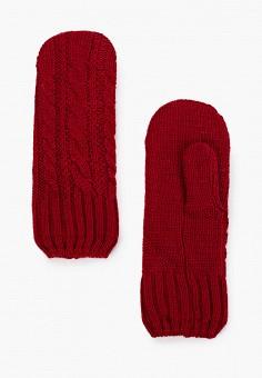 Варежки, Noryalli, цвет: бордовый. Артикул: NO027DWKKWK9. Аксессуары / Перчатки и варежки
