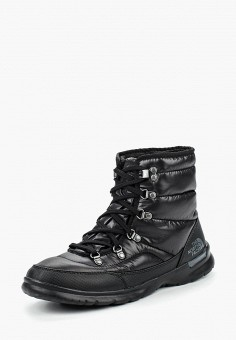 Дутики, The North Face, цвет: черный. Артикул: NO732AWLUV12.