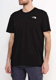 Футболка, The North Face, цвет: черный. Артикул: NO732EMREG90.