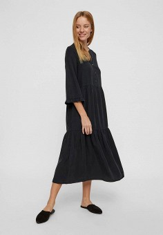 Платье, Noisy May, цвет: черный. Артикул: NO963EWFIUC7. Одежда