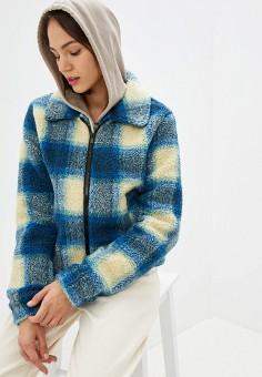 Шуба, Noisy May, цвет: синий. Артикул: NO963EWFOZG9. Одежда / Верхняя одежда / Шубы и дубленки