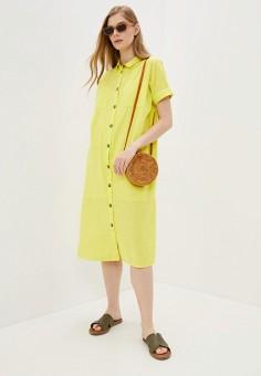 Платье, Noisy May, цвет: желтый. Артикул: NO963EWHJBA0. Одежда / Платья и сарафаны / Повседневные платья