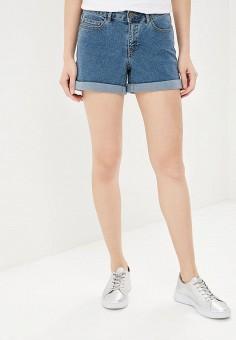 Шорты джинсовые, Noisy May, цвет: синий. Артикул: NO963EWZJU50.