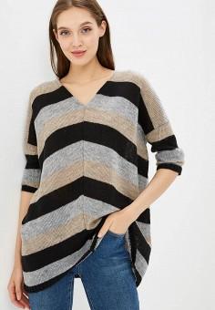 Пуловер, Numinou, цвет: серый. Артикул: NU007EWCBQA3. Одежда / Джемперы, свитеры и кардиганы / Джемперы и пуловеры