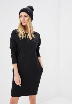Платье, Numinou, цвет: черный. Артикул: NU007EWDQKK1. Одежда / Платья и сарафаны
