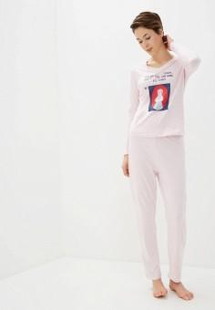 Пижама, NYMOS, цвет: розовый. Артикул: NY002EWIEIE5. Одежда / Домашняя одежда / Пижамы