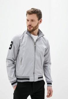 Куртка, Occhibelli, цвет: серый. Артикул: OC002EMJBRL2. Одежда / Верхняя одежда / Легкие куртки и ветровки