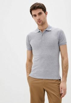 Поло, Occhibelli, цвет: серый. Артикул: OC002EMJBRN0. Одежда