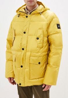 Пуховик, Odri, цвет: желтый. Артикул: OD001EMHDTS2.