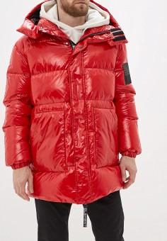 Пуховик, Odri, цвет: красный. Артикул: OD001EUHDTQ7. Одежда / Верхняя одежда / Пуховики и зимние куртки
