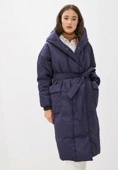 Пуховик, Odri Mio, цвет: синий. Артикул: OD006EWGRQI7. Одежда / Верхняя одежда / Пуховики и зимние куртки / Пуховики
