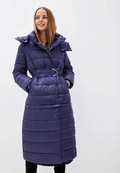 Куртка утепленная, Odri Mio, цвет: синий. Артикул: OD006EWGRQL1. Одежда / Верхняя одежда / Демисезонные куртки