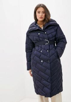 Пуховик, Odri Mio, цвет: синий. Артикул: OD006EWGRQM4. Одежда / Верхняя одежда / Пуховики и зимние куртки / Пуховики