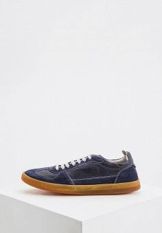 Кеды, Officine Creative, цвет: синий. Артикул: OF002AMHPPG6. Обувь / Кроссовки и кеды / Кеды