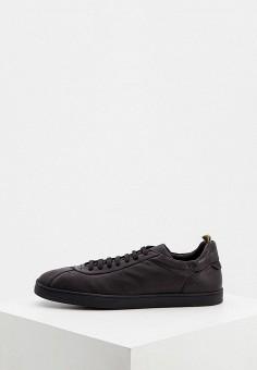 Кеды, Officine Creative, цвет: черный. Артикул: OF002AMJYDF1. Обувь / Кроссовки и кеды / Кеды