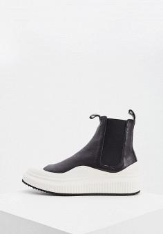 Ботинки, Officine Creative, цвет: черный. Артикул: OF002AWJVVE5. Обувь / Ботинки / Челси