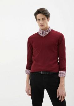 Пуловер, Old Seams, цвет: бордовый. Артикул: OL021EMHRVW8. Одежда