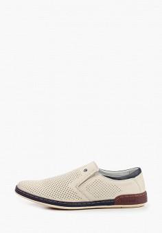 Ботинки, O-live Naturalle, цвет: бежевый. Артикул: OL023AMIIXJ0. Обувь / Ботинки / Низкие ботинки