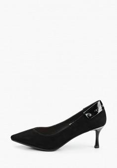 Туфли, O-live Naturalle, цвет: черный. Артикул: OL023AWIFOS6. Обувь / Туфли / Лодочки