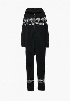 Комбинезон, OnePiece, цвет: черный. Артикул: ON001EUYOX64. Одежда / Домашняя одежда