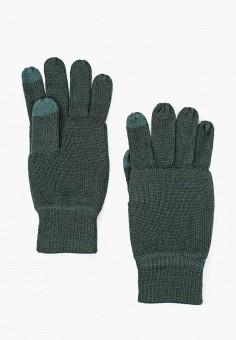 Перчатки, Only & Sons, цвет: зеленый. Артикул: ON013DMFLBF2. Аксессуары / Перчатки и варежки