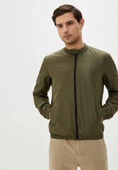 Ветровка, Only & Sons, цвет: хаки. Артикул: ON013EMHJCJ3. Одежда / Верхняя одежда / Легкие куртки и ветровки