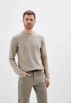 Джемпер, Only & Sons, цвет: бежевый. Артикул: ON013EMHXDD5. Одежда / Джемперы, свитеры и кардиганы / Джемперы и пуловеры