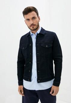 Куртка джинсовая, Only & Sons, цвет: синий. Артикул: ON013EMJNPT9. Одежда / Верхняя одежда / Джинсовые куртки