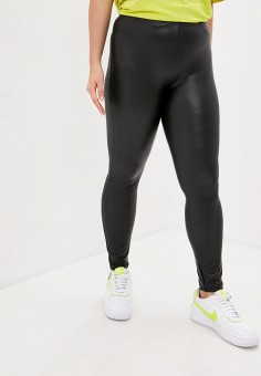 Леггинсы, Only Carmakoma, цвет: черный. Артикул: ON019EWJPEB2. Одежда / Брюки / Леггинсы