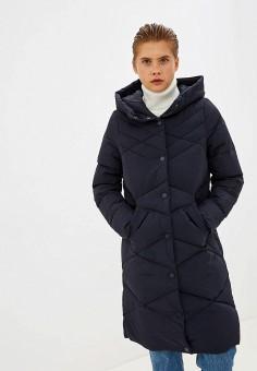 Пуховик, Only, цвет: синий. Артикул: ON380EWFVIK9. Одежда / Верхняя одежда / Пуховики и зимние куртки / Пуховики