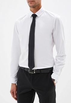 Рубашка, oodji, цвет: белый. Артикул: OO001EMGKHC9. Одежда / Рубашки / Рубашки с длинным рукавом