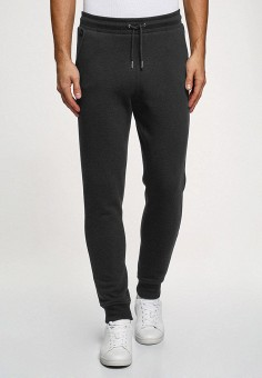 Брюки спортивные, oodji, цвет: серый. Артикул: OO001EMHFXU1. Одежда / Брюки / Спортивные брюки