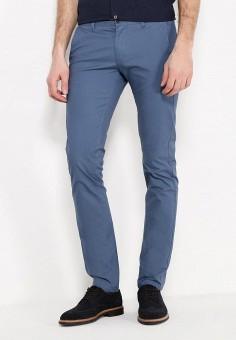 Брюки, oodji, цвет: синий. Артикул: OO001EMSRB69. Одежда / Брюки / Повседневные брюки