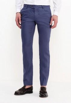 Брюки, oodji, цвет: синий. Артикул: OO001EMSST31. Одежда / Брюки / Повседневные брюки