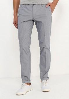 Брюки, oodji, цвет: серый. Артикул: OO001EMTFL28. Одежда / Брюки / Повседневные брюки
