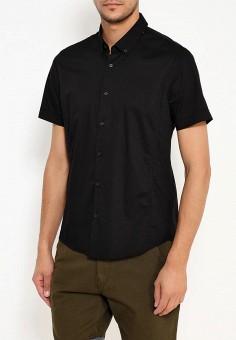 Рубашка, oodji, цвет: черный. Артикул: OO001EMTME30. Одежда / Рубашки
