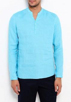 Рубашка, oodji, цвет: голубой. Артикул: OO001EMTMV53.