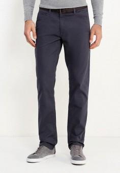 Брюки, oodji, цвет: серый. Артикул: OO001EMVPQ59. Одежда / Брюки / Повседневные брюки