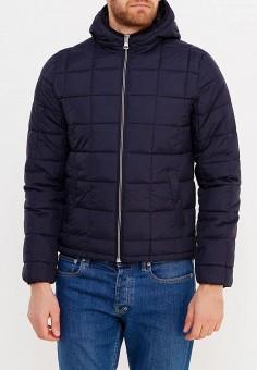 Куртка утепленная, oodji, цвет: синий. Артикул: OO001EMXVA57. Одежда / Верхняя одежда / Демисезонные куртки