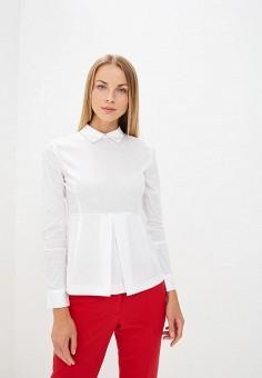 Блуза, oodji, цвет: белый. Артикул: OO001EWCBYQ9.