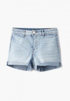 Шорты джинсовые, oodji, цвет: голубой. Артикул: OO001EWEBUB4. Одежда / Шорты