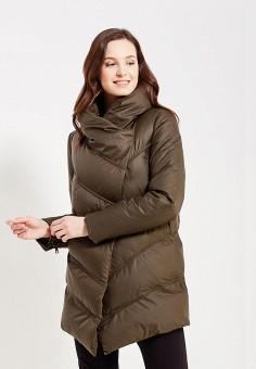 Куртка утепленная, oodji, цвет: хаки. Артикул: OO001EWYPY62. Одежда / Верхняя одежда / Демисезонные куртки