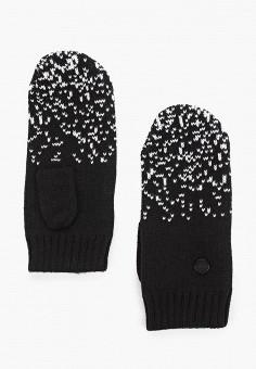 Варежки, Outhorn, цвет: черный. Артикул: OU004DUHYLY2. Аксессуары / Перчатки и варежки