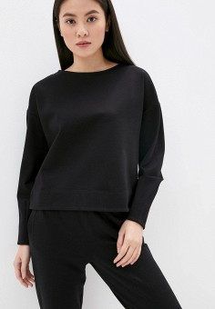 Свитшот, Outhorn, цвет: черный. Артикул: OU004EWJKLE6. Одежда / Толстовки и свитшоты