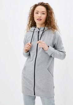 Туника, Outhorn, цвет: серый. Артикул: OU004EWJKLF1. Одежда / Туники