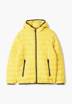 Куртка утепленная, OVS, цвет: желтый. Артикул: OV001EBIABN4. Мальчикам / Одежда / Верхняя одежда / Куртки и пуховики