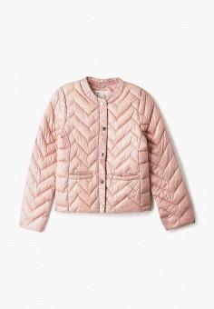 Куртка утепленная, OVS, цвет: розовый. Артикул: OV001EGIABL8. Девочкам / Одежда / Верхняя одежда / Куртки и пуховики